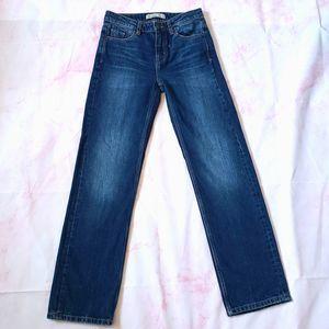 Zara Basic Z 1975 Straight Leg Jeans women